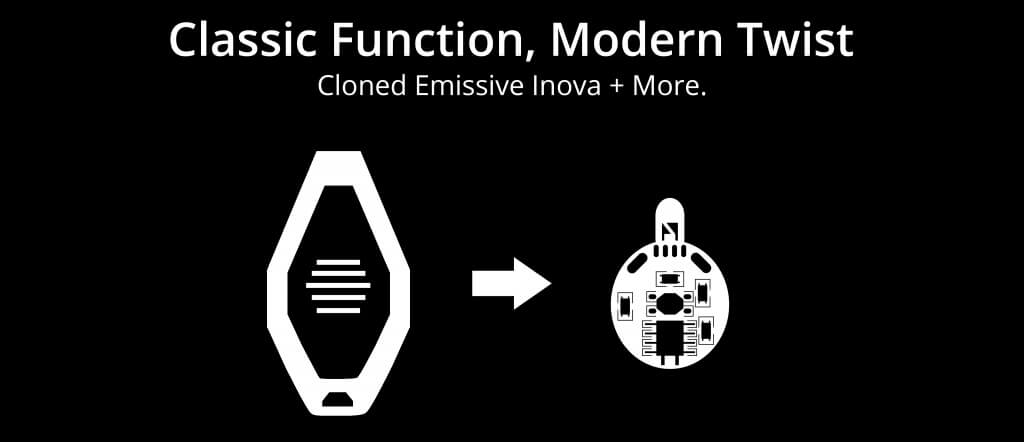 Classic Function, Modern Twist. Cloned Emissive Inova + More.