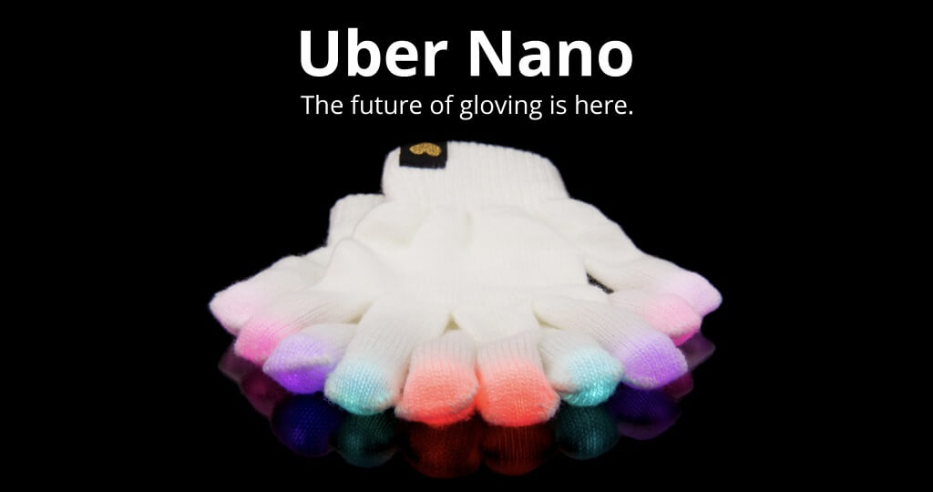 Uber Nano Motion Reactive Glove Set: the future of gloving is here.